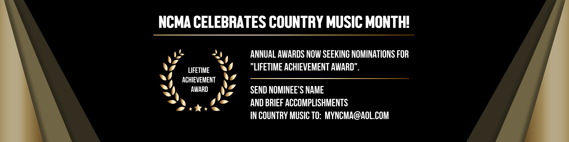 About Us - North Country Music Awards